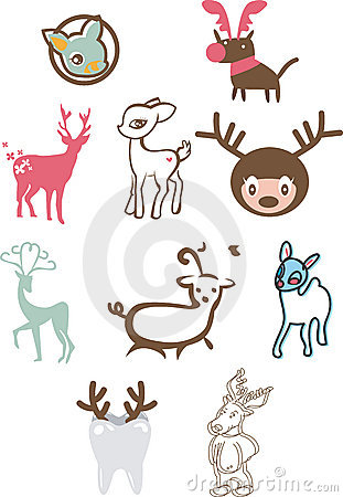 Cute Reindeers