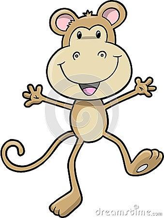 Cute Safari Monkey