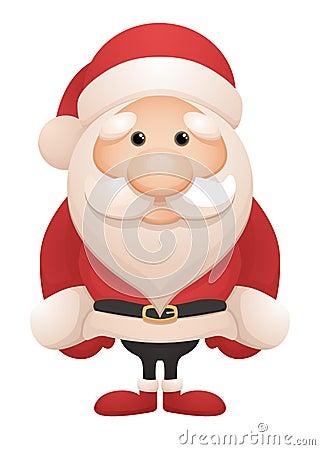 Free Cute Santa Stock Image - 23829091