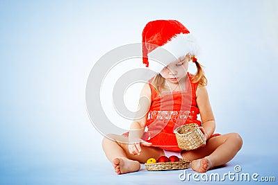 Cute Santa child