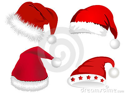 Cute Santa Claus hats