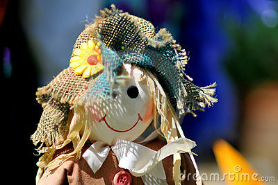 Cute scarecrow doll