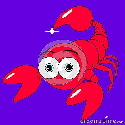 Cute Scorpion
