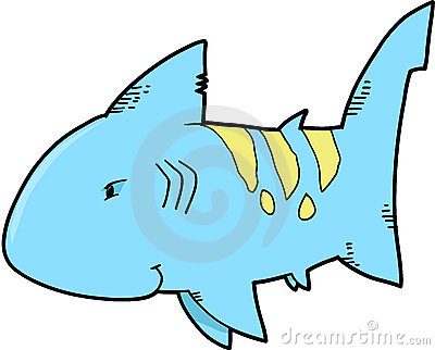 Cute Shark Vector