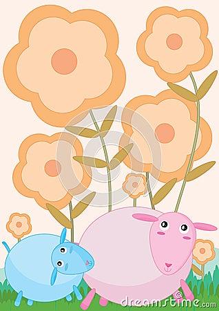 Cute Sheep_eps