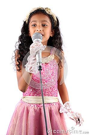 Cute Singer