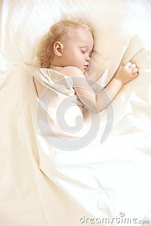 Cute sleep girl