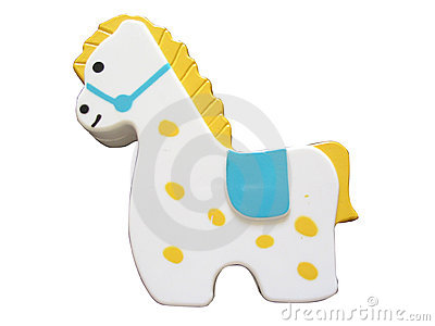 Cute Spotted Horse