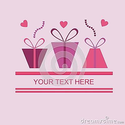 Cute st. valentine s day card