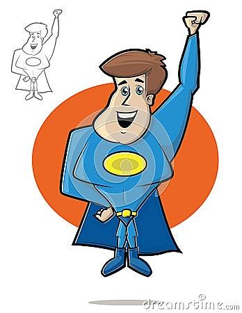 Cute Super Hero