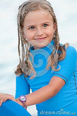 Cute surfer