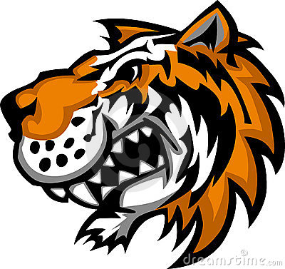 Cute Tiger Mascot Logo
