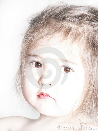 Cute Toddler in Sepia-2