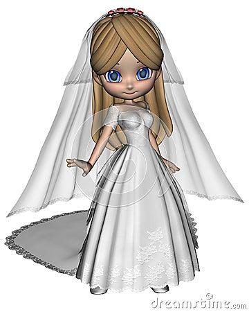 Cute Toon Bride