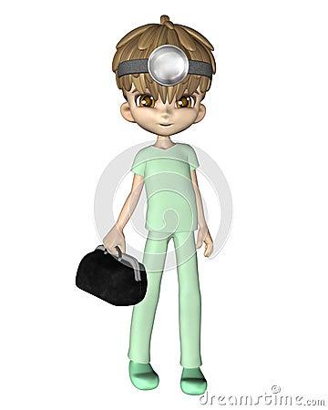 Cute Toon Doctor