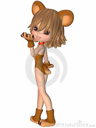 Cute Toon Figure - Bear