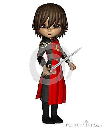 Cute Toon Knight - 1