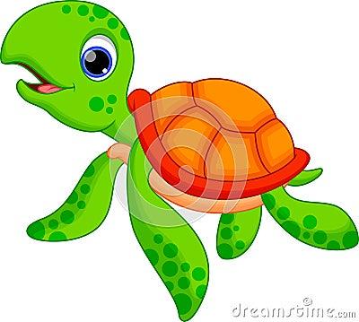 Cute animated sea turtles - photo#16