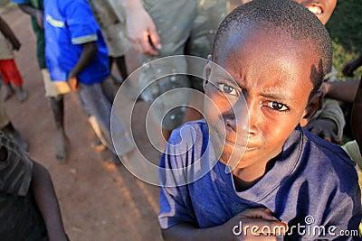 A cute Uganda boy Editorial Photo
