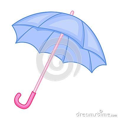 Cute umbrella cartoon