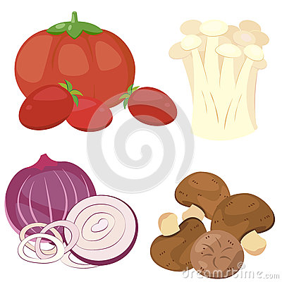 Cute vegetable collection 01