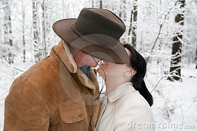Cute Western Couple