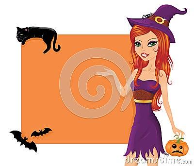 Cute witch.