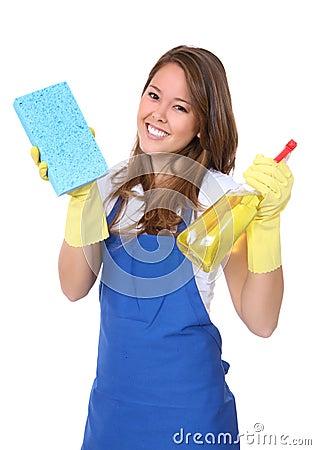 Cute Woman Maid