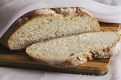 The cuted bread