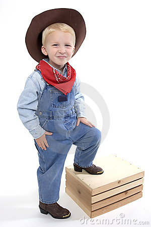 Free Cutest Little Cowboy Stock Photo - 1469020