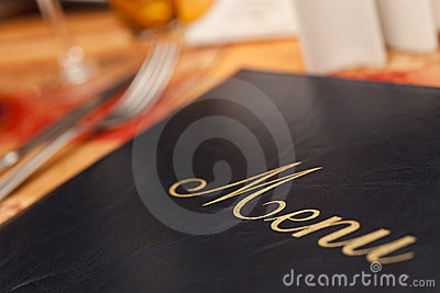 таблица ресторана меню cutlery