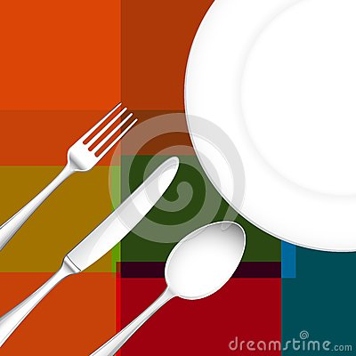 Cutlery with Dish