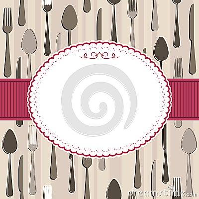 Cutlery frame