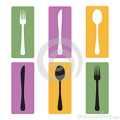 Cutlery full color