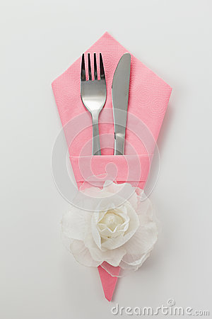Cutlery and Napkin