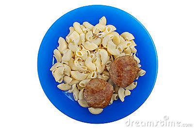 Cutlet macaroni food