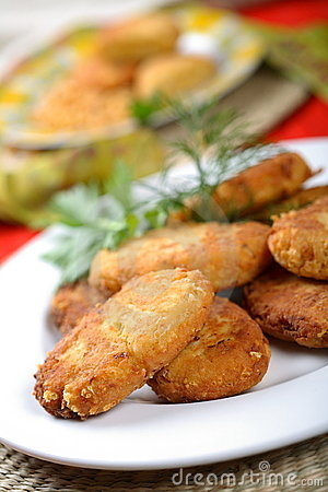 Free Cutlets Made From Peas Stock Image - 2432931