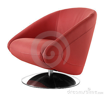 Cutout modern chair