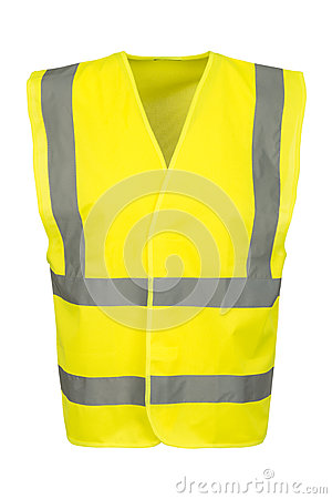 Free Cutout Of Front Of Yellow Safety Vest Royalty Free Stock Photo - 78038815