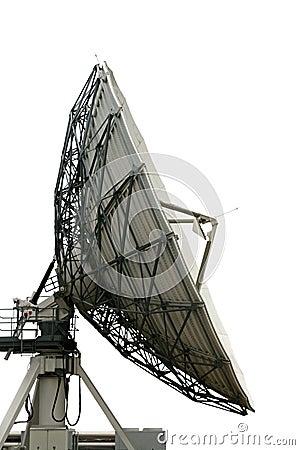 Cutout satelite dish