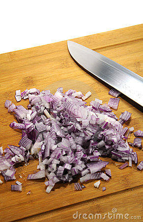 Cutted onions