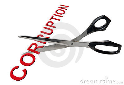 Cutting corruption, isolated