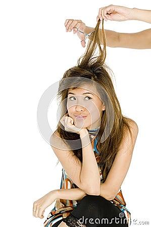 Free Cutting Hair Stock Photos - 1822673
