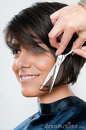 Free Cutting Hair Royalty Free Stock Photo - 21862215