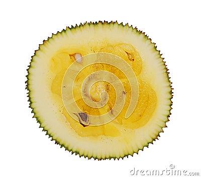 Cutting jack-fruit