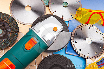 The cutting machine and various detachable disks