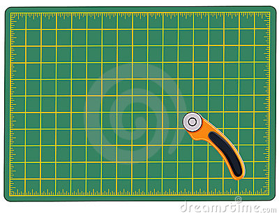 Cutting Mat & Rotary Cutter