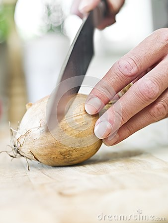 Cutting Onion