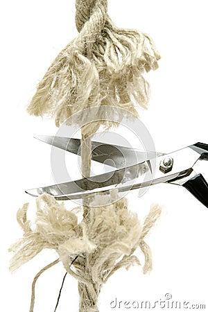 Cutting Rope