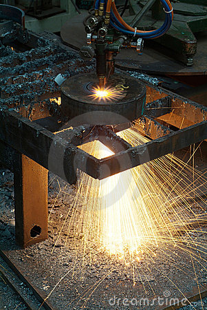 Free Cutting Steel Royalty Free Stock Photos - 10135018